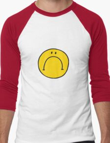 Mr UnHappy Men's Baseball ¾ T-Shirt