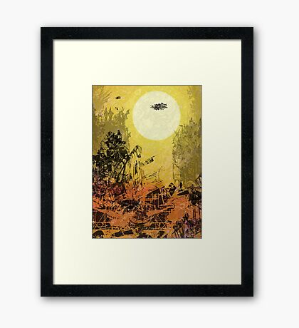 TH65 Framed Print