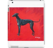Black Greyhound iPad Case/Skin