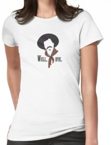 Tombstone: Curly Bill Womens Fitted T-Shirt