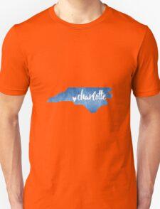 Charlotte, North Carolina  Unisex T-Shirt