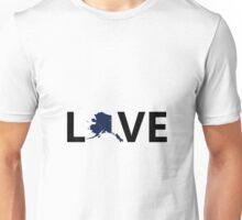 Love Alaska Unisex T-Shirt