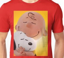 charlie brown snoopy big hugs movie Unisex T-Shirt