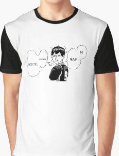 Kageyama Naf Nuff NICE Graphic T-Shirt