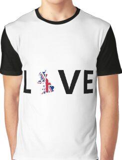 Love England UK Graphic T-Shirt