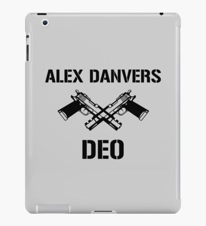 Alex Danvers DEO iPad Case/Skin