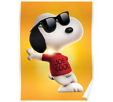 snoopy joe cool Poster