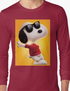 snoopy joe cool Long Sleeve T-Shirt