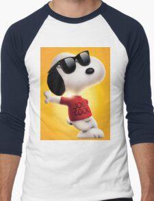 snoopy joe cool Men's Baseball ¾ T-Shirt