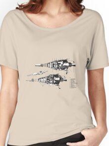 Martin 410 Diagram Cutaway Women's Relaxed Fit T-Shirt