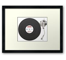 Fitness Gram Pacer Test Record Framed Print