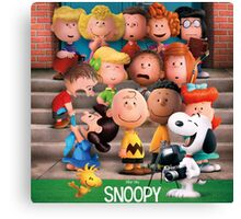 charlie brown snoopy peanuts foto session Canvas Print