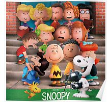 charlie brown snoopy peanuts foto session Poster