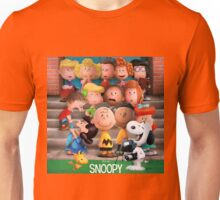 charlie brown snoopy peanuts foto session Unisex T-Shirt
