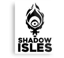 Shadow isles Metal Print
