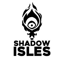 Shadow isles Photographic Print