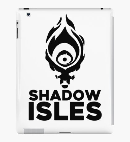 Shadow isles iPad Case/Skin