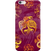 Crow Mandala 2 iPhone Case/Skin