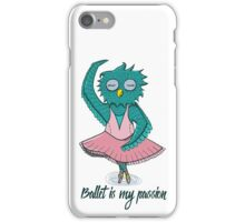 Owl ballerina iPhone Case/Skin