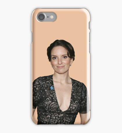 tina fey transparent. iPhone Case/Skin