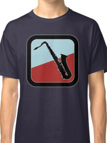 Old Saxophone Sign Classic T-Shirt