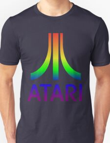 Atari Big Rainbow Logo Unisex T-Shirt