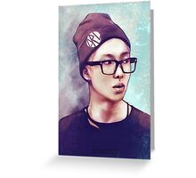 BTS Rap Monster 01 Greeting Card