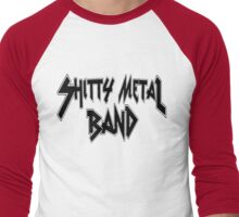 Shitty Metal Band Men's Baseball ¾ T-Shirt