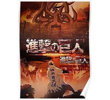 Shingeki No Kyubi SNK Poster