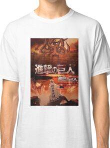 Shingeki No Kyubi SNK Classic T-Shirt