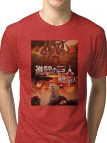Shingeki No Kyubi SNK Tri-blend T-Shirt
