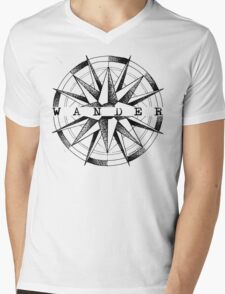 Wander Mens V-Neck T-Shirt