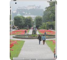 A postcard view (Salzburg, Austria) iPad Case/Skin