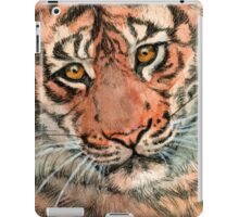 Tiger portrait 884 iPad Case/Skin