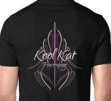 Kool Kat Pinstriping (Purple) Unisex T-Shirt