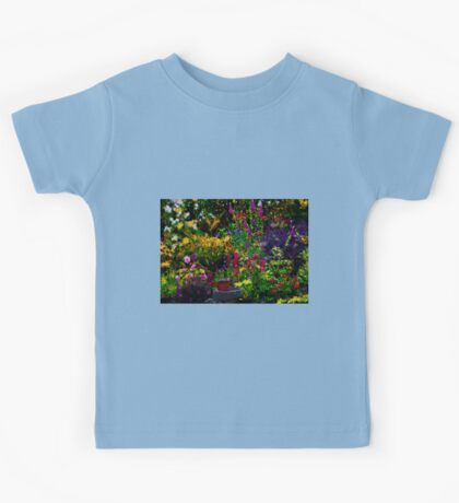 English Country Garden Kids Tee