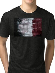 Shadow Flag Tri-blend T-Shirt
