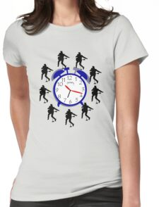 Rock around the clock Womens Fitted T-Shirt