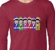 Japan Christmest Characters Long Sleeve T-Shirt