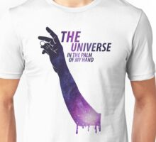 The Universe in The Palm of My Hand Unisex T-Shirt