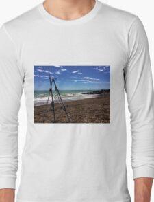 Beach Fishing Long Sleeve T-Shirt
