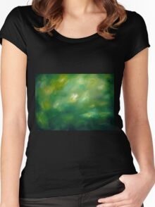 Forest Impression Women's Fitted Scoop T-Shirt