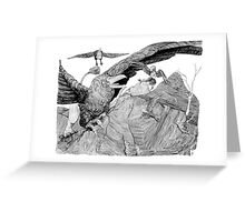 Assault on Harpy's Roost Greeting Card
