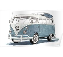 VW Time Gone By Poster
