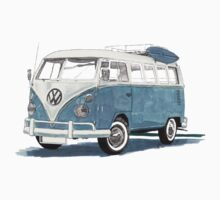 VW Time Gone By Kids Tee