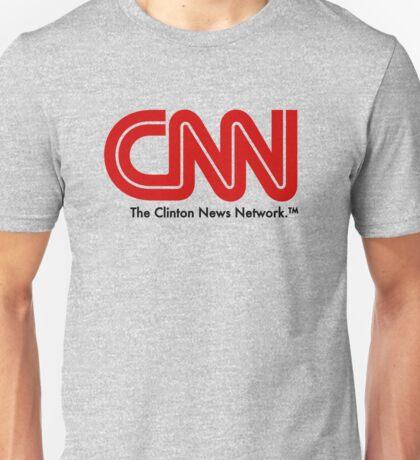 CNN - The Clinton News Network Unisex T-Shirt