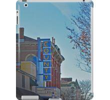 County Theater  iPad Case/Skin