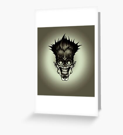 anime, manga -death note- Greeting Card