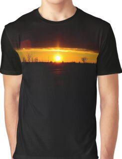 Peeking Sunrise Graphic T-Shirt