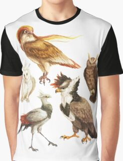 PokéBirds of Prey I Graphic T-Shirt